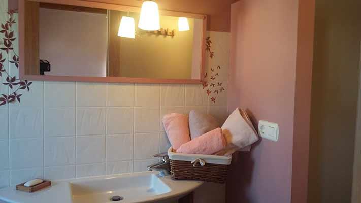 Baño lila planta primera